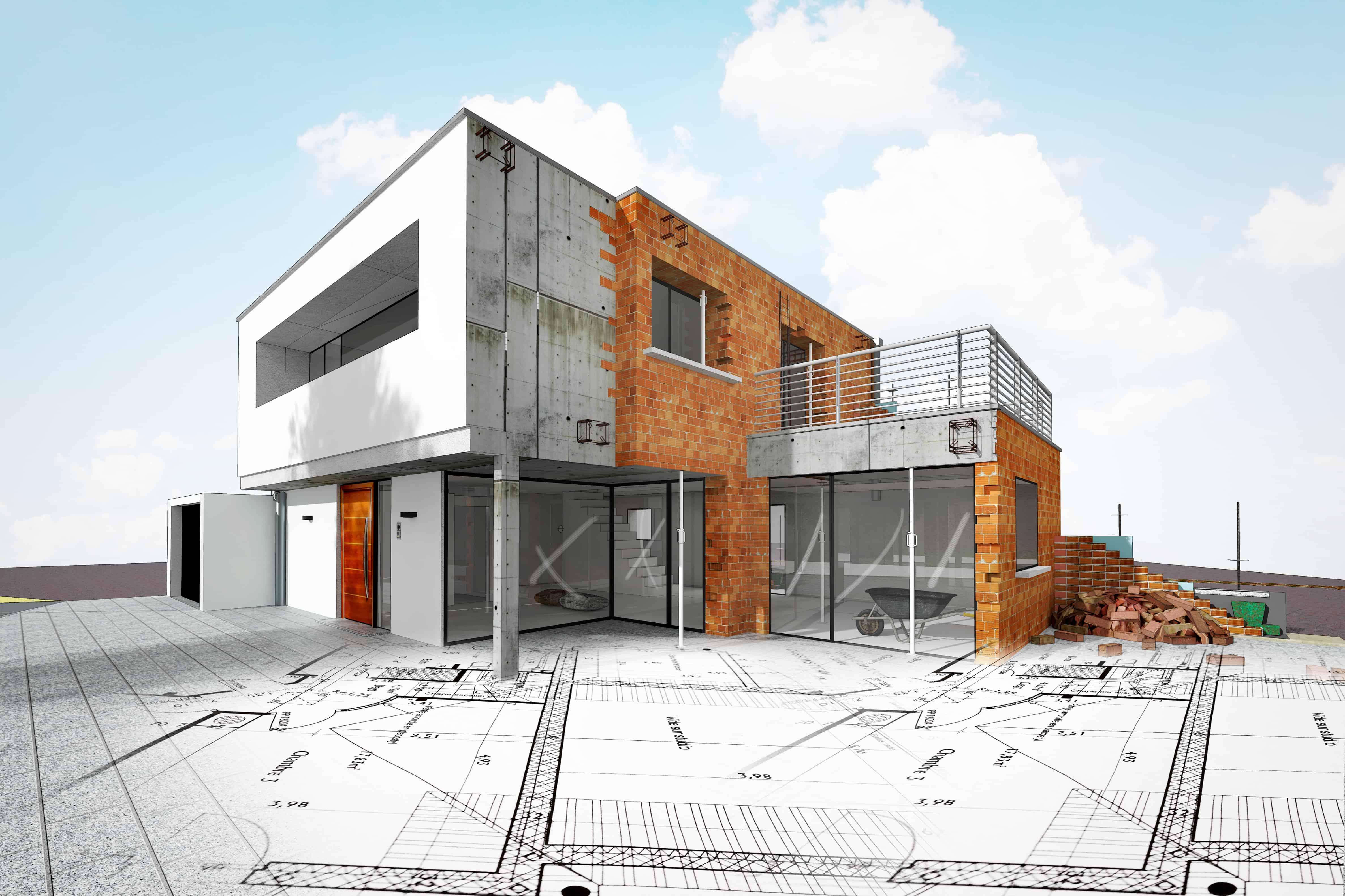 Bauplanung Hausbau